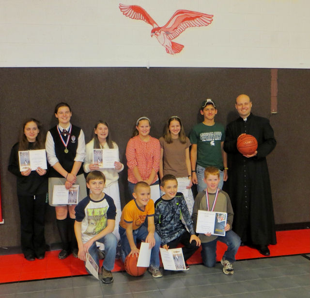 Sacred Heart Council Free Throw Particpants